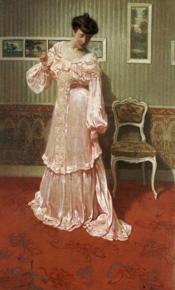Аим Стивенс. Леди в розовом платье