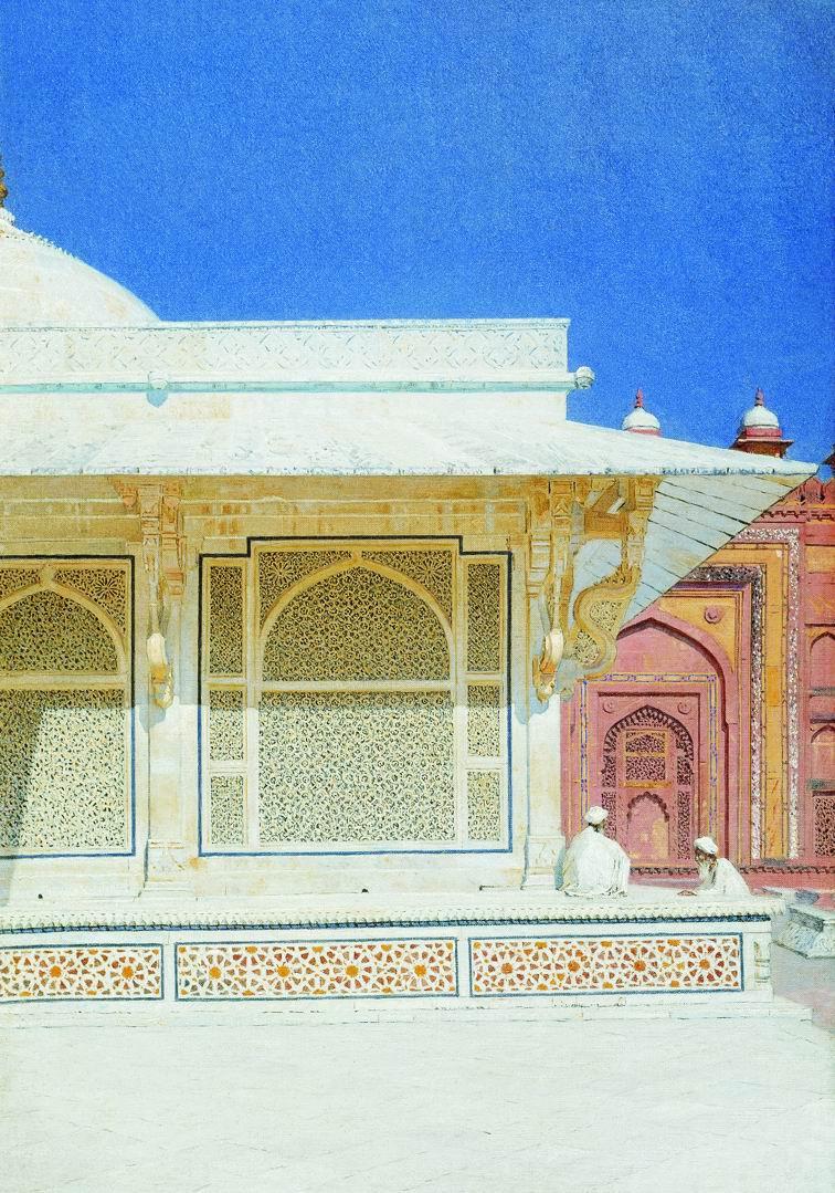 Vasily Vereshchagin. The tomb of Sheikh Salim Chishti in Fatehpur Sikri