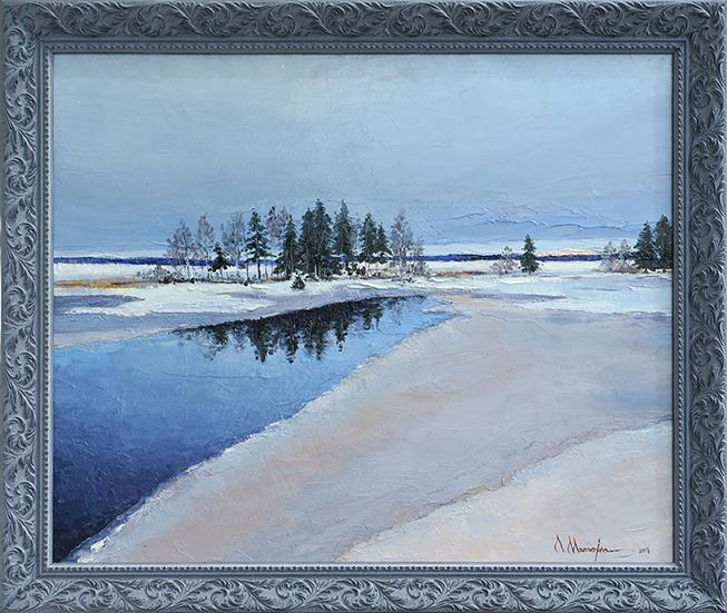Alexander Matyukhin. Thaw (50x60 cm)
