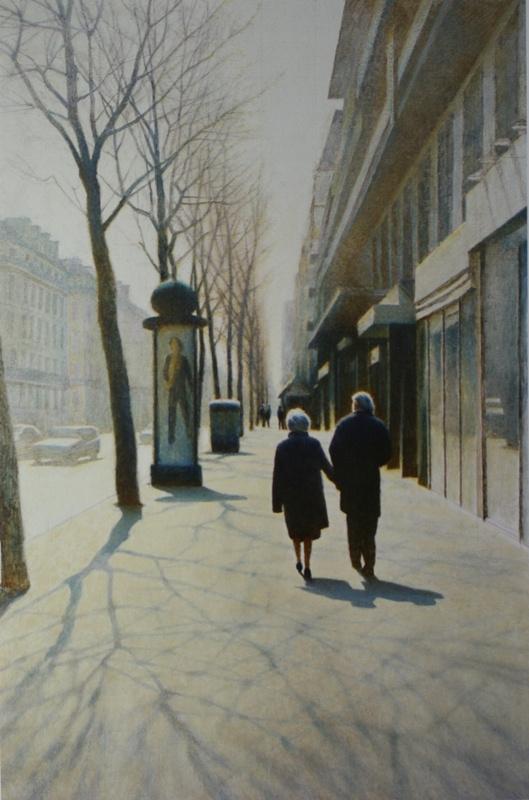 Eric Vladimirovich Bulatov. Spring. Boulevard Sevastopl