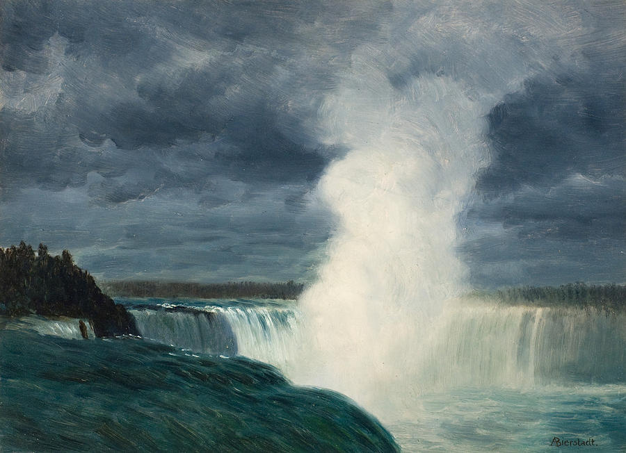 Альберт Бирштадт. Ниагарский водопад