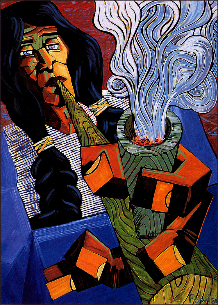 David Fowler. Magic Smoking
