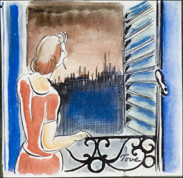 Туве Янссон. У окна в Париже