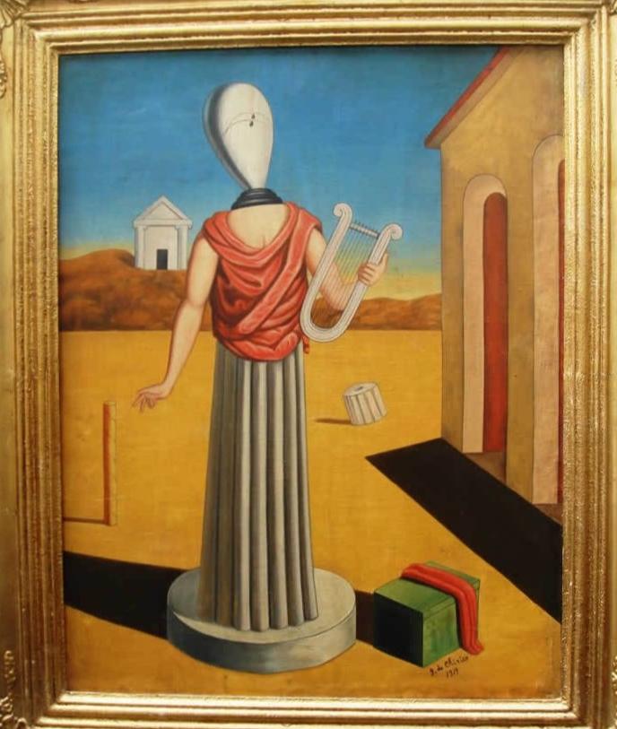 G. de Chirico. La Musa della Storia