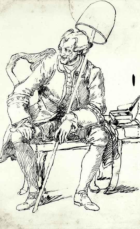 Уильям Хогарт. Портрет Джона Уилкса