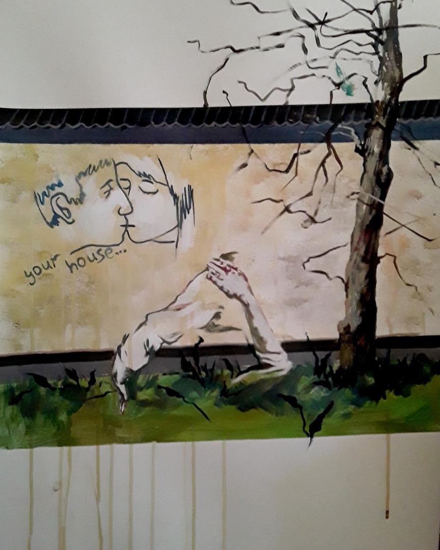 "Alexandra Efimova. ""Graffiti"""