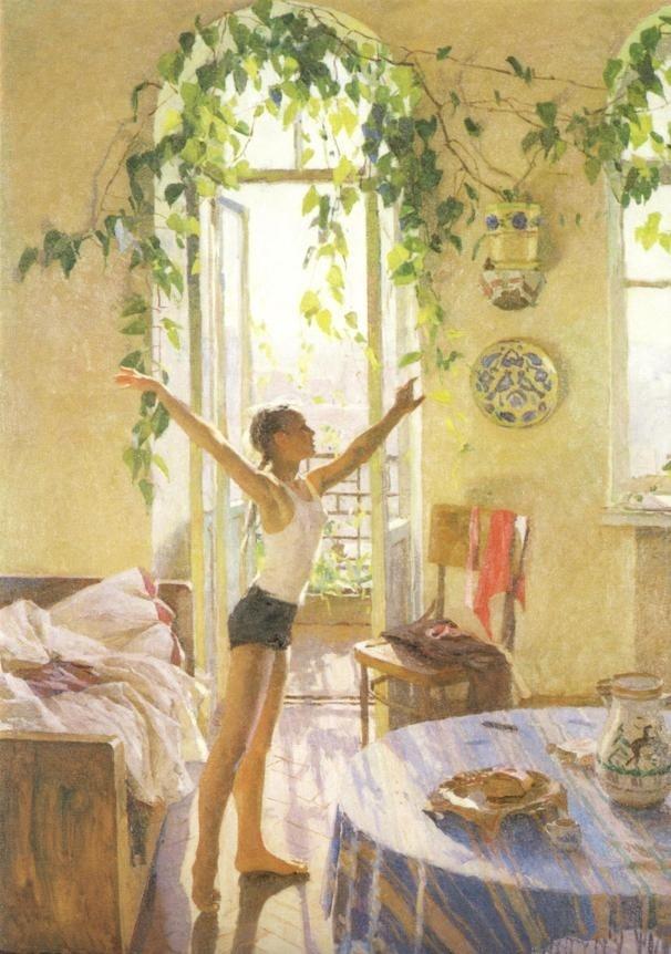 Tetyana Yablonska. Morning