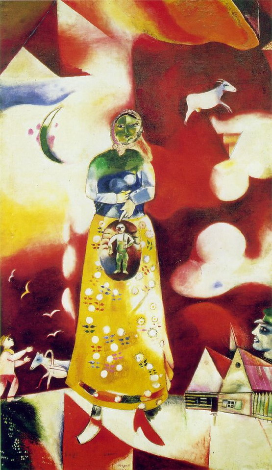 Marc Chagall. Motherhood
