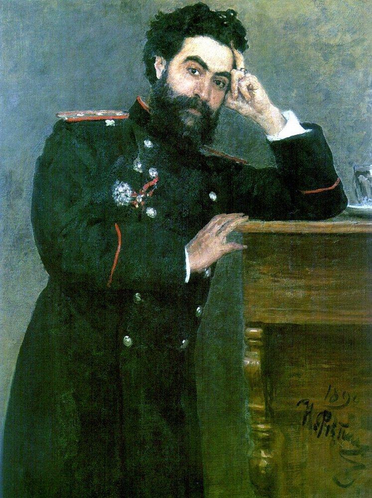 Илья Ефимович Репин. Портрет И. Р. Тарханова