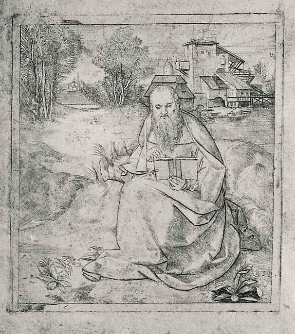 Джулио Кампаньола. Святой Иероним
