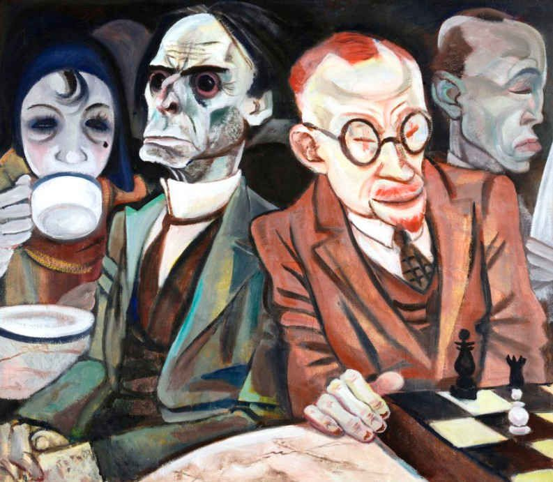 Jeanne Mammen. Chess player