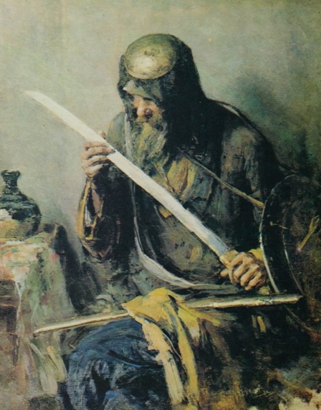 Abram E. Arkhipov. Warrior