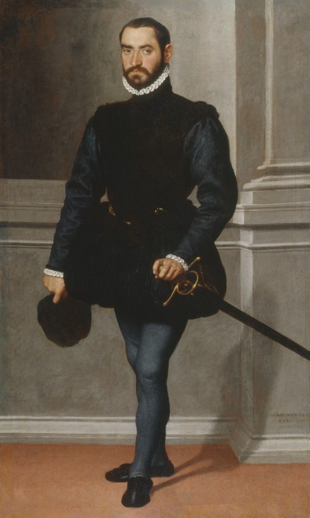 Джованни Баттиста Морони. Портрет мужчины (Кавалер в черном)