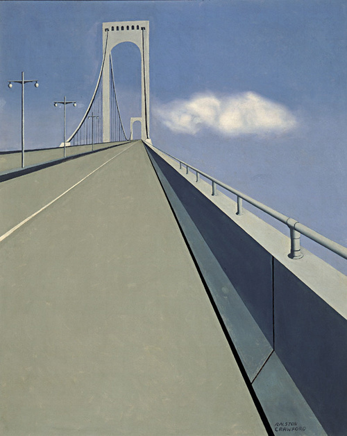 Ralston Crawford. Whitestone Bridge