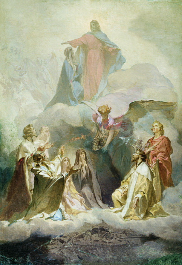 Ivan Kuzmich Makarov. Sermon on the Mount. Sketch