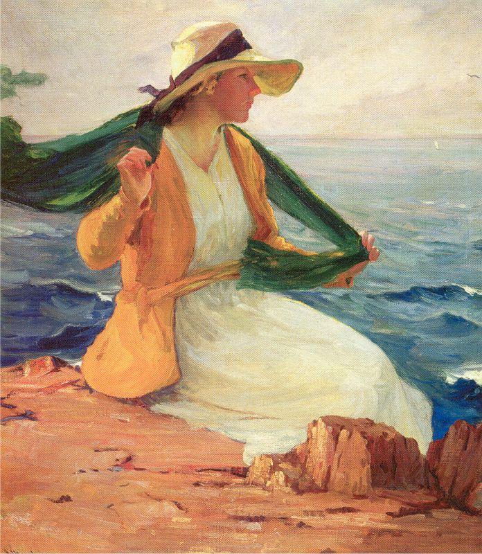 Жан Мангейм. Порыв ветра на пляже