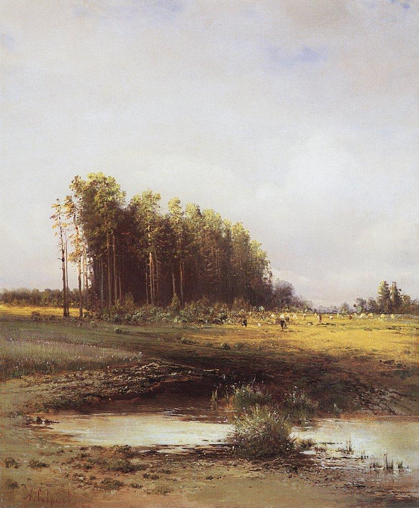 Алексей Кондратьевич Саврасов. Лосиный остров