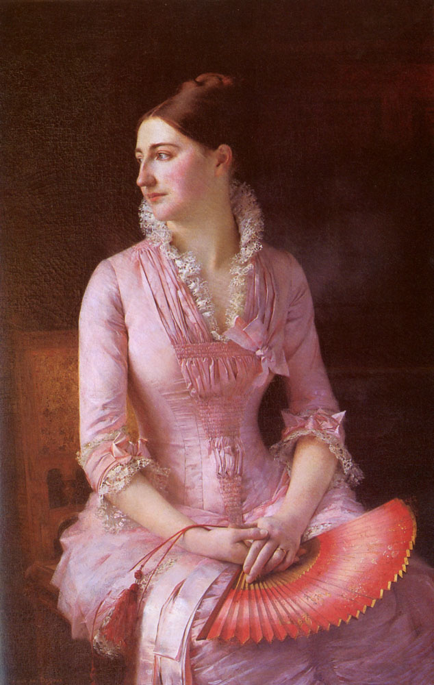 Паскаль Адольф Жан Даньян-Бувре. Девушка в  розовом