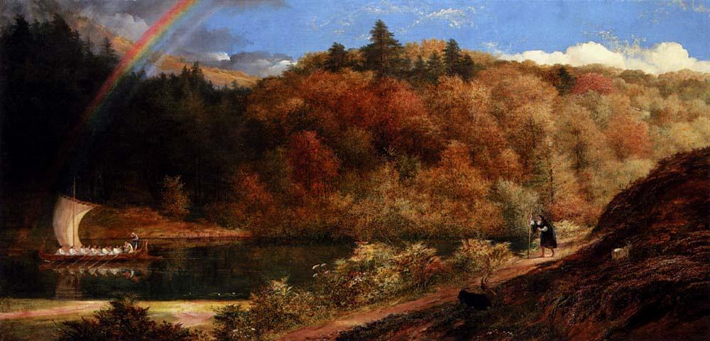 Ричард Редгрейв. Пейзаж