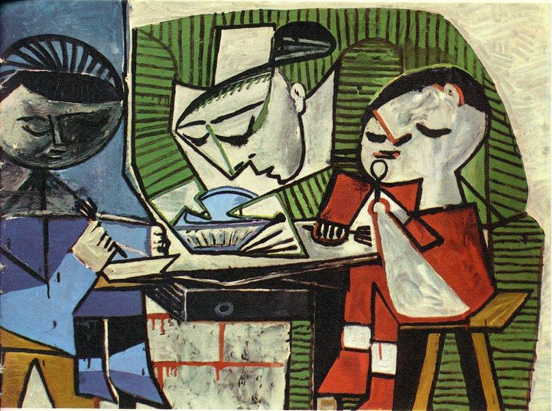 Пабло Пикассо. Завтрак