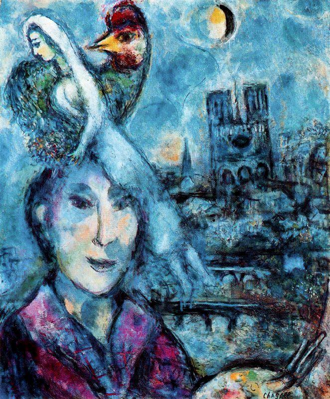 Marc Chagall. Self-portrait