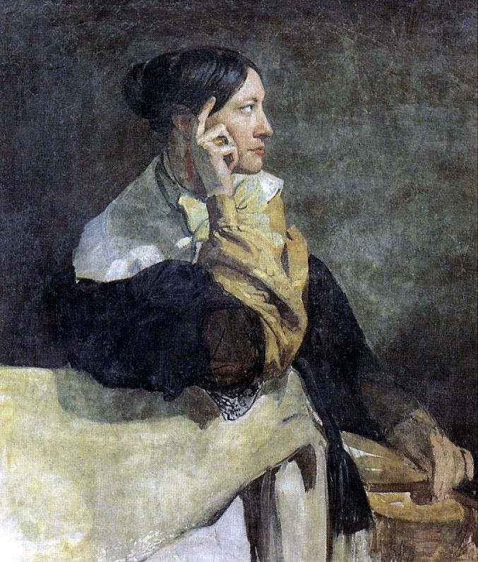 Виктор Мотте. Мадам Мотте, жена художника