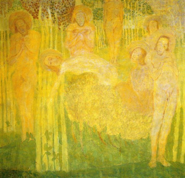 Казимир Северинович Малевич. Эскиз фресковой живописи