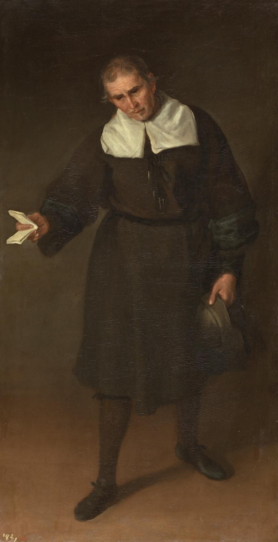 Juan Carreno de Miranda. Шут Франсиско Базан