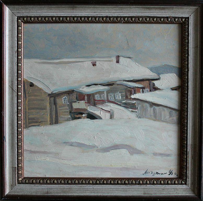 Vasily Vasilyevich Lichutin. Winter