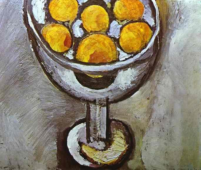 Анри Матисс. Ваза с апельсинами