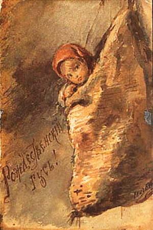 Елизавета Меркурьевна Бём (Эндаурова). Рождественский гусь!