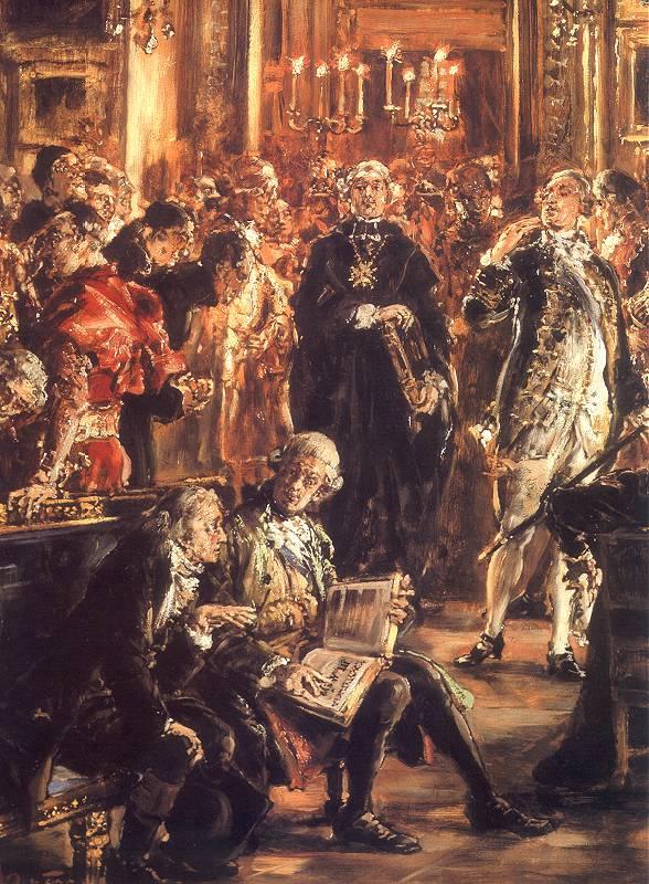 Ян Матейко. Конституция 3 мая, четырёхлетний сейм 1795 года, раскол. Фрагмент. Станислав Сташич и Анджей Замойский, великий канцлер короны