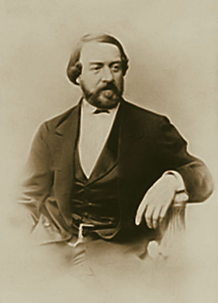 Алексей Петрович Боголюбов. Фотографический портрет Громова