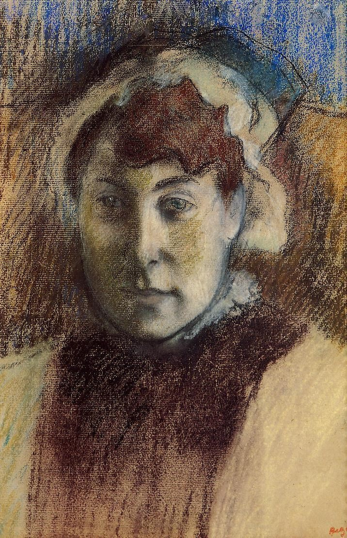 Edgar Degas. Portrait of Madame Ernest may