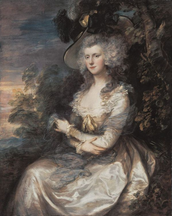Thomas Gainsborough. Mrs Thomas Hibbert