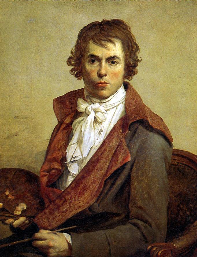 Jacques-Louis David. Self-portrait