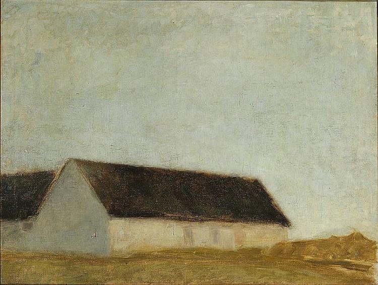 Вильгельм Хаммерсхёй. Ферма в Бонделанге