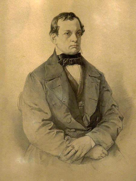 Jan Matejko. Portrait of Antony Djibultovsky