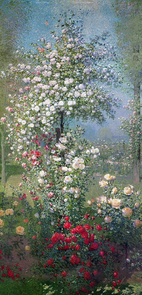 Эрнест Кууост. Цветы
