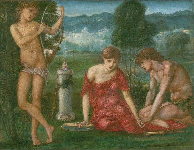 Edward Coley Burne-Jones. A SACRIFICE TO HYMEN