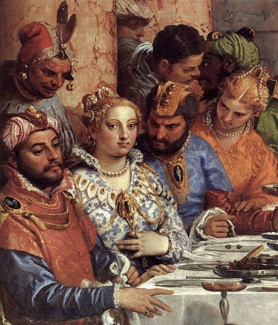 Paolo Veronese. Wedding in Cana of Galilee. Fragment