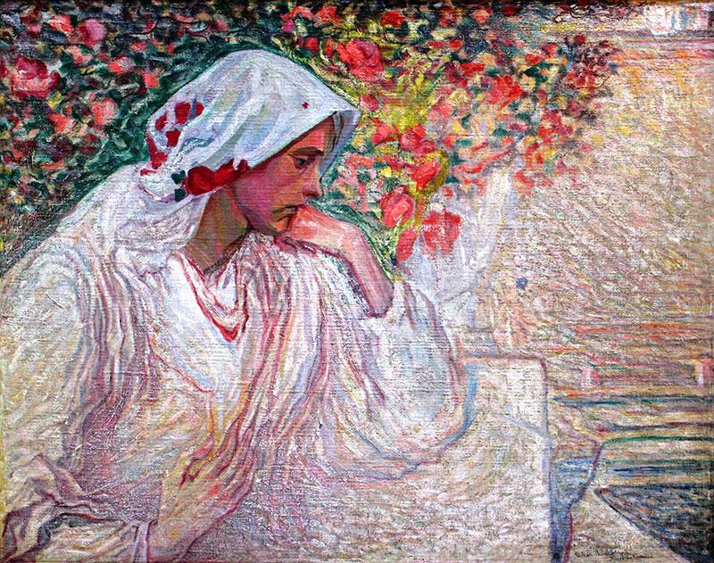 Алексей (Олекса) Новаковский. Muse. Portrait of the artist's wife