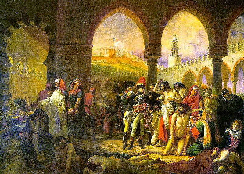 Барона Антуана-Жан-Жан-Жан - Жан Грос. Монархия