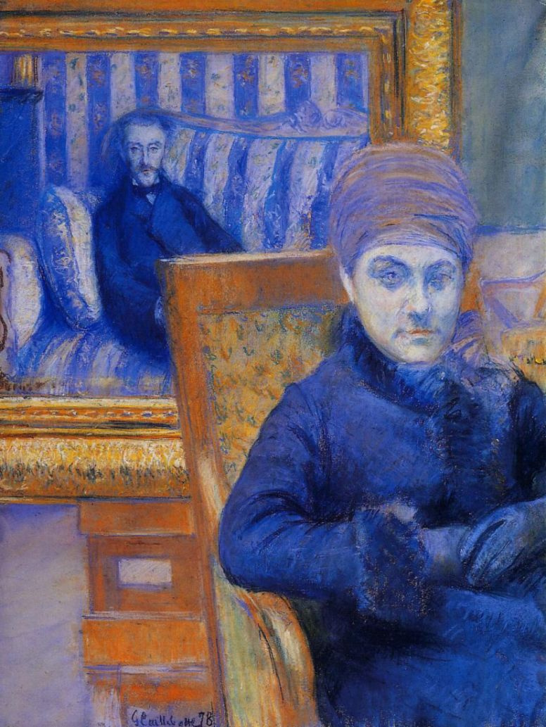Gustave Caillebotte. Portrait of Madame X.