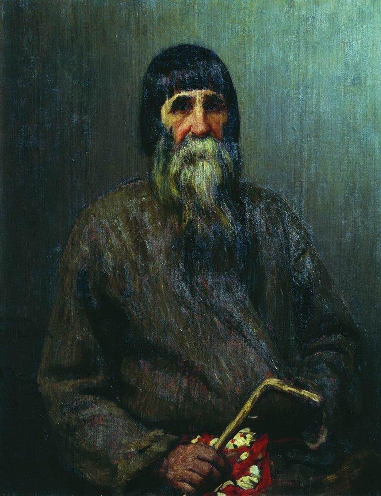 Илья Ефимович Репин. Портрет крестьянина