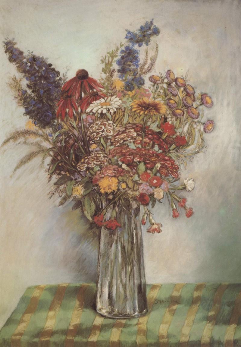 Theophile-Alexander Steinlen. Bouquet