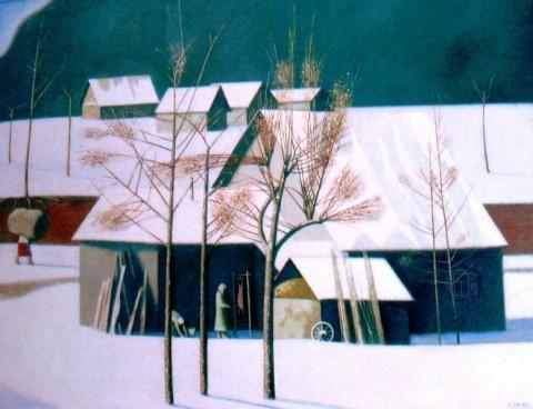 Petr Varfolomeevich Petrov. Village