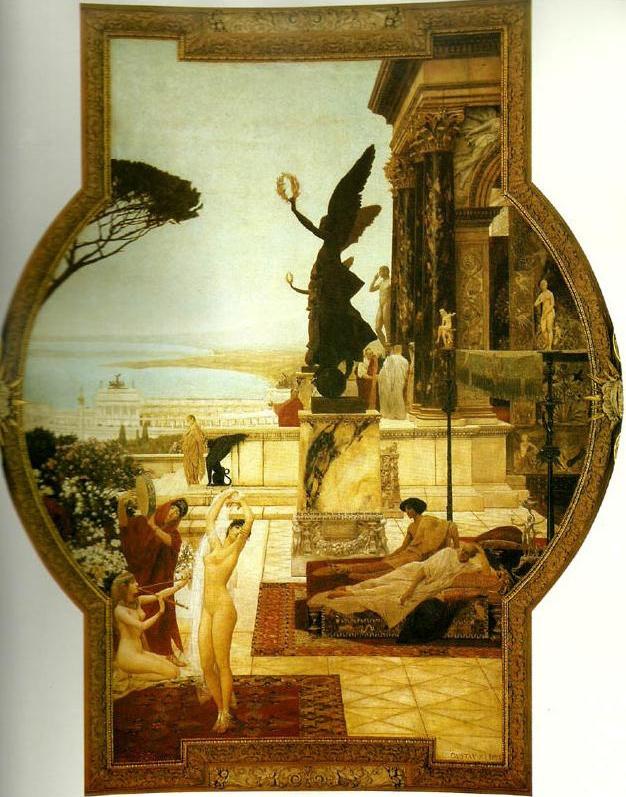 Gustav Klimt. The Theatre Of Taormina