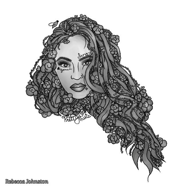 Rebecca Johnston. Beyonce