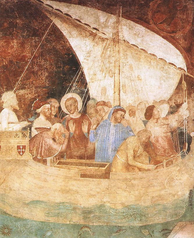 Андреа Бонаиути Да Фиренз. Сцены из жизни святого Райнера. Фрагмент